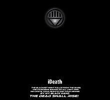 Black Lantern iPhone cover by LXXV Art