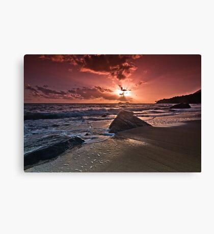 Bursting Sunrise! Canvas Print