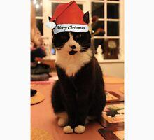Merry Christmas Kitty! Men's Baseball ¾ T-Shirt