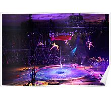 The Big Ring - Ringling Brothers Circus - Salisbury, MD Poster