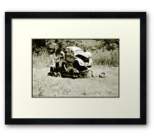 Space Saver Framed Print