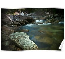 Rocks By The Creek Poster