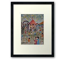Fun Park by Day Framed Print