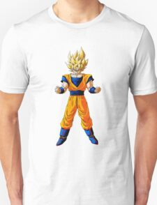 Dragon ball Z: Super Saiyan Goku design T-Shirt