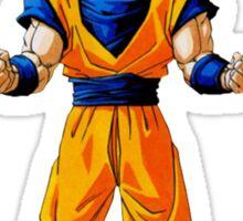 Dragon ball Z: Super Saiyan Goku design Sticker