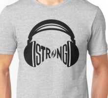 FNTS Strong Headphones Unisex T-Shirt