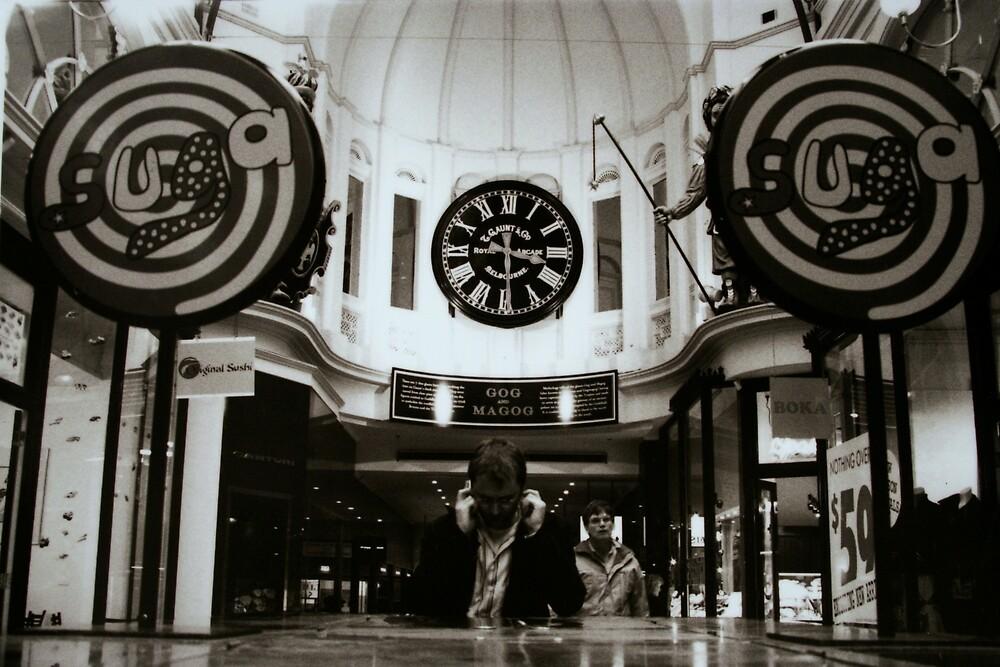 Arcade, Melbourne by J Forsyth