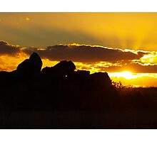The Evening Show Photographic Print