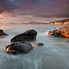 Taroona Beach Early Morning #3 by Chris Cobern