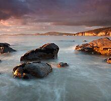 Taroona Beach Early Morning #3 by Chris Cobern