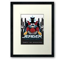 JEAGER PILOT Framed Print