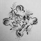Quad-Rat. A Pen Sketch 1999 by Igor Pozdnyakov