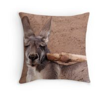 OOOF! Throw Pillow