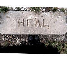 heal Photographic Print