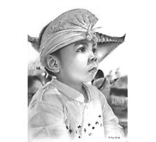 Balinese Child Photographic Print