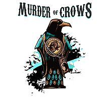 Murder of Crows Vigor Photographic Print