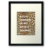 Kylie Jenner Is My Spirit Animal 2 Framed Print