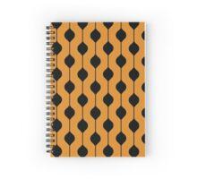 The Droplet - Orange Spiral Notebook