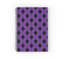 The Droplet - Pruple Spiral Notebook