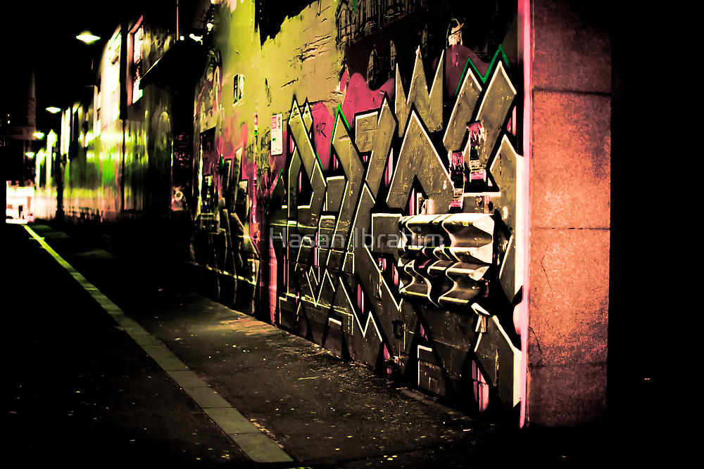Graffiti Overload by Hasan Ibrahim