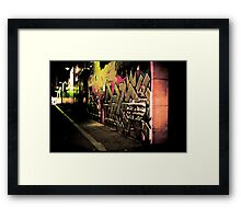 Graffiti Overload Framed Print