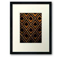 Thai Woodwork Framed Print