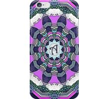 Wheel of Dreams Mandala A iPhone Case/Skin