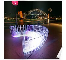 Light Bench, Vivid Sydney Festival Poster