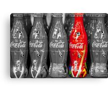 World Cup Coke Copy Canvas Print