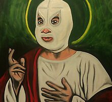 El Santo de la Lucha  by Sparc_ eg