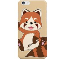 Doodle the Red Panda iPhone Case/Skin
