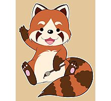 Doodle the Red Panda Photographic Print