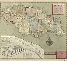 Map of Jamaica (1771) by allhistory