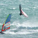 Windsurfing at Cottesloe by Ross Campbell