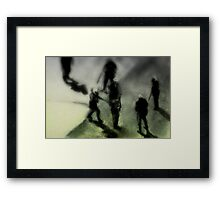 MSG - They Came For Us Framed Print