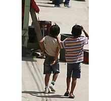 Kids, Ecuador Photographic Print