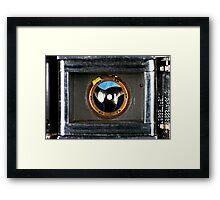 Through the Eye of argus Framed Print