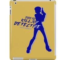 The Killjoy detective iPad Case/Skin