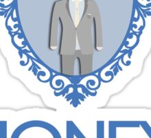 Crowned Moriarty Sticker