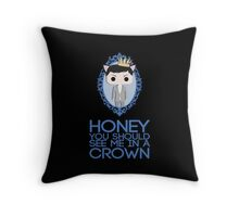 Crowned Moriarty Throw Pillow