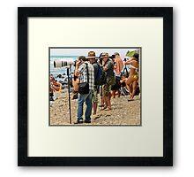 The Photographers 1 Framed Print