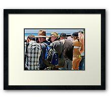 The Photographers 2 Framed Print