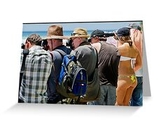 The Photographers 2 Greeting Card