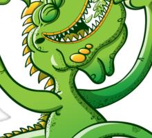 Saint Patrick's Day Iguana Sticker