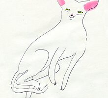 a cat by maybemary