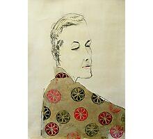 clare in kimono Photographic Print
