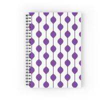 The Droplet Lite - Purple Spiral Notebook