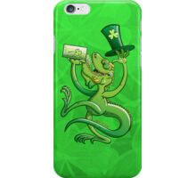 Saint Patrick's Day Iguana iPhone Case/Skin