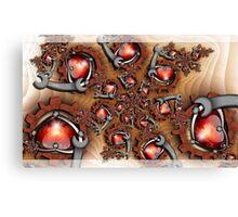 Heart's Mechanic Canvas Print