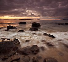 Taroona Beach Early Morning #4 by Chris Cobern